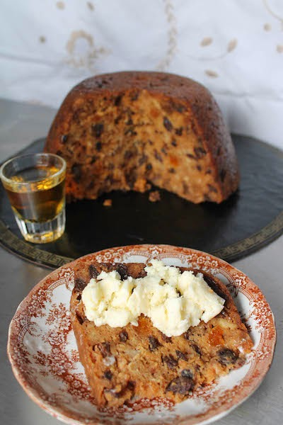 Food Lust People Love: A beautifully rich steamed cake or pudding, filled with raisins and black currants, Christmas Pudding is one of the traditional Christmas desserts in the United Kingdom.