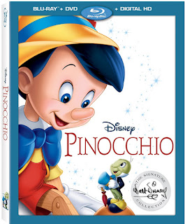 Disney Pinocchio Blue Ray