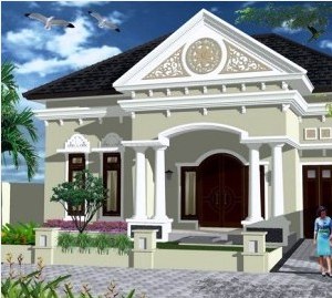 Desain rumah eksterior