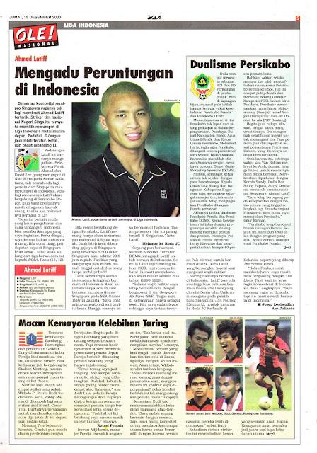 LIGA INDONESIA AHMAD LATIFF