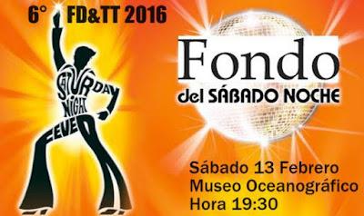 Fondo de sábado a la noche de FD&TT en Museo oceanográfico (Montevideo, 13/feb/2016)