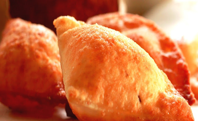 There is nothing quite as delicious as a lemon zest warm mandazi!