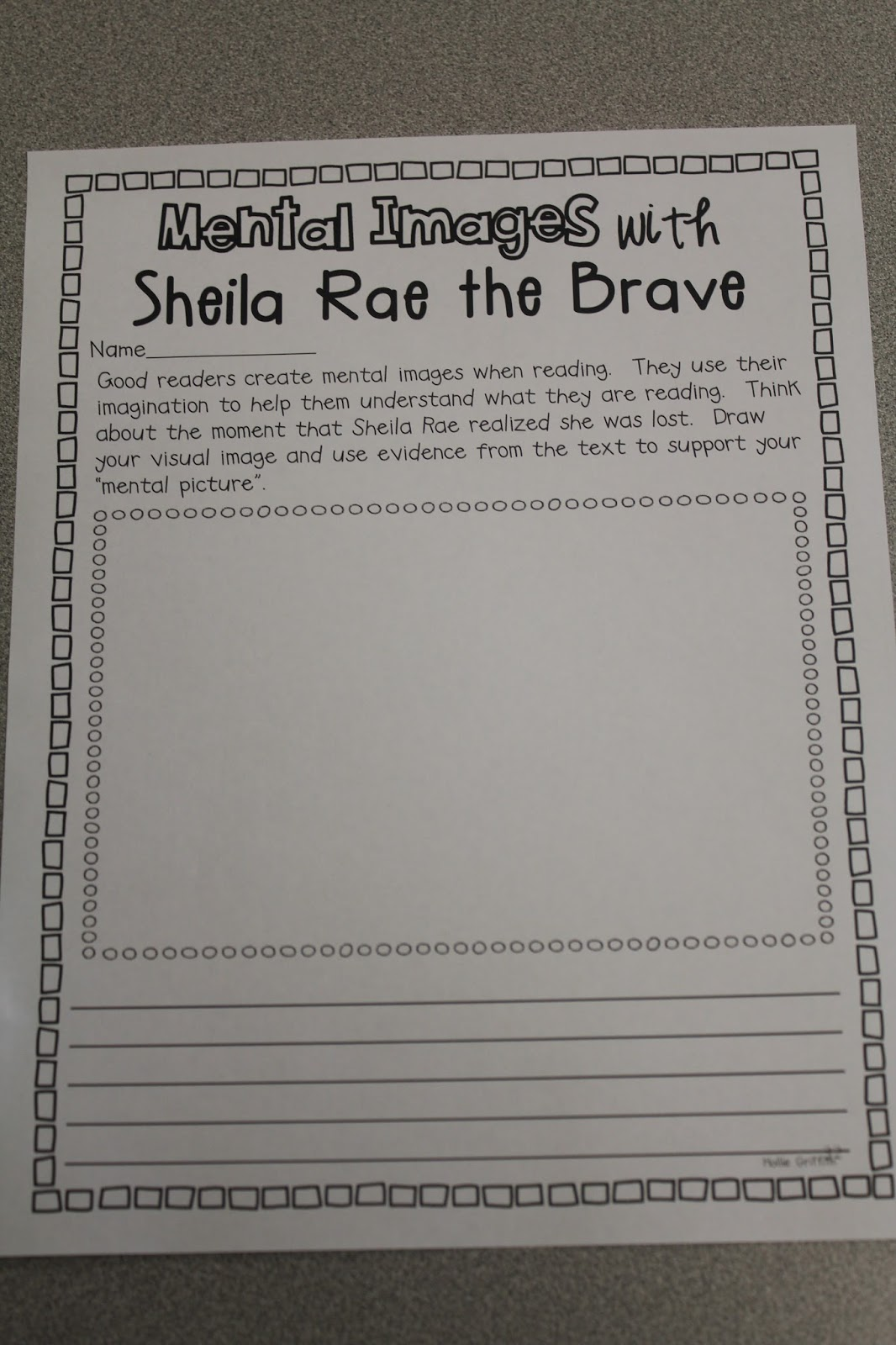The Razzle Dazzle Classroom Kevin Henkes Author Study Day 2 Sheila Rae The Brave