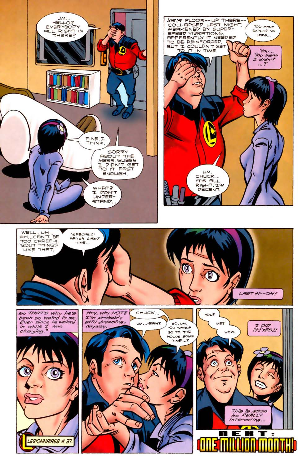 Legion of Super-Heroes (1989) 109 Page 22