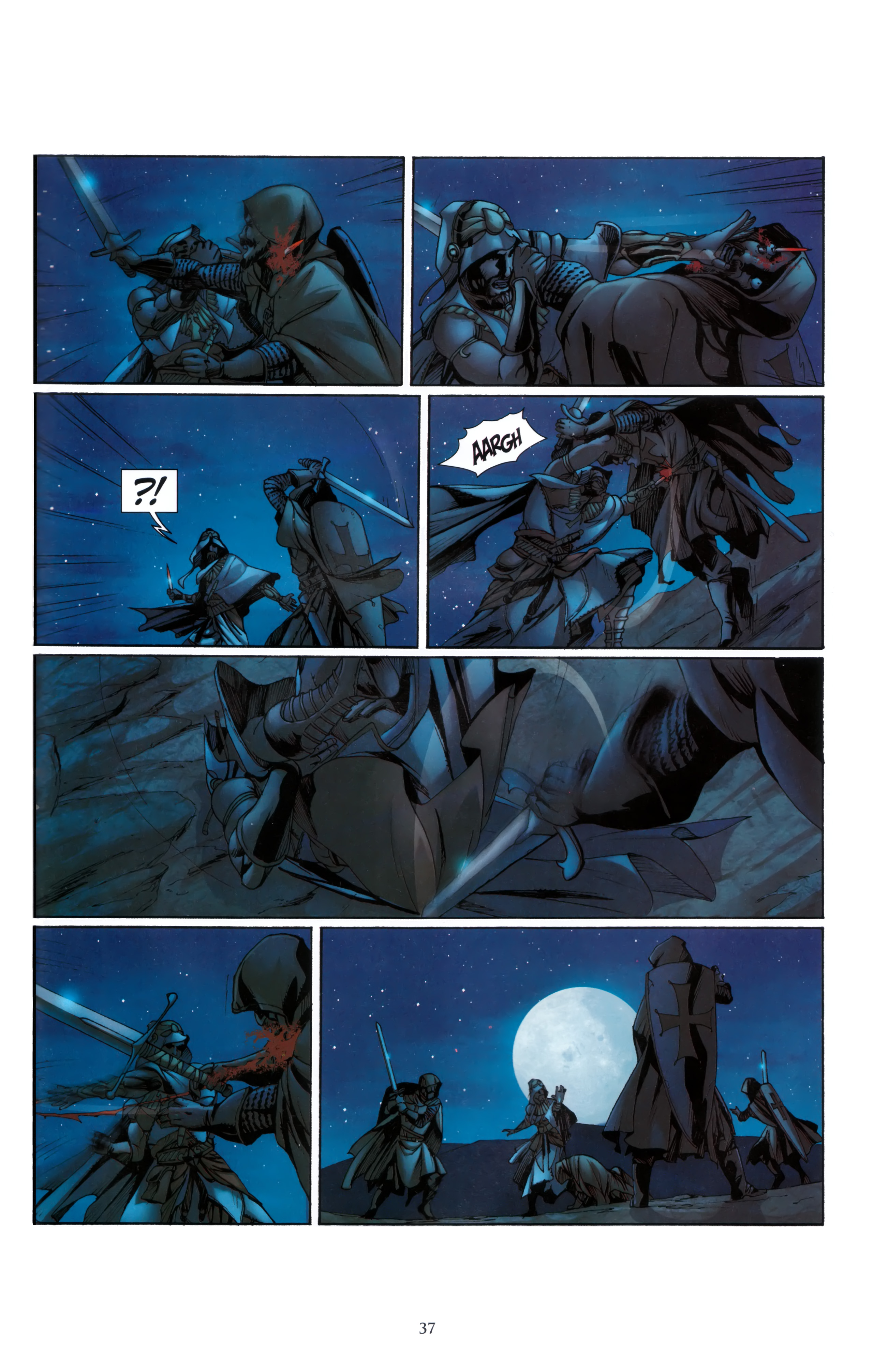 Read online Assassin's Creed (2012) comic -  Issue #5 - 37
