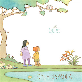 Quiet by Tomie dePaola, cover image