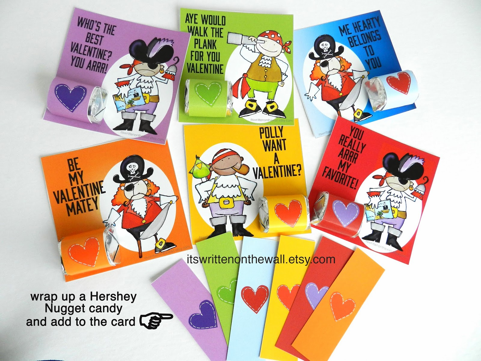 Its Written on the Wall Valentines Day Cards and Wrap for – Boy Valentines Day Cards