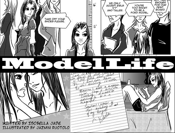 Isobella Jade's Petite Modeling Tips: It's here! My graphic