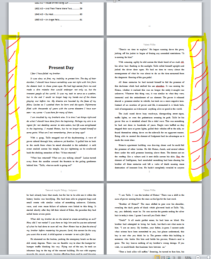 WritingTips - Self Publishing on CreateSpace & KDP | Valerie