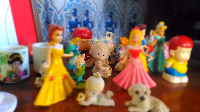 Miniature Mode sample photo using Asus Zenfone Selfie mini figurines