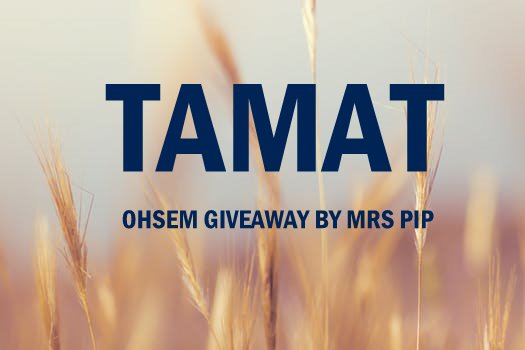 TAMAT || Ohsem Giveaway By Mrs Pip
