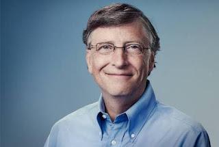 بيل غيتس مؤسس شركة مايكروسوفت.