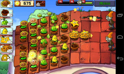 Plants vs. Zombies v.1.6.2 Apk MOD, Infinite sun/Unlock store