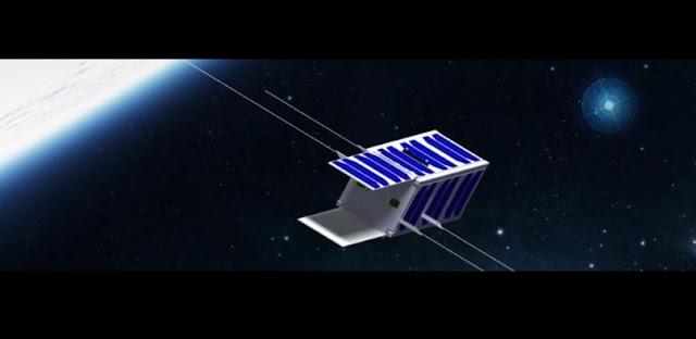 Artist's rendering of PicSat. Image Credit: Paris Observatory/LESIA