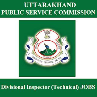 Uttarakhand Public Service Commission, UKPSC, PSC, UK, Uttarakhand, Divisional Inspector, 10th, freejobalert, Sarkari Naukri, Latest Jobs, ukpsc logo