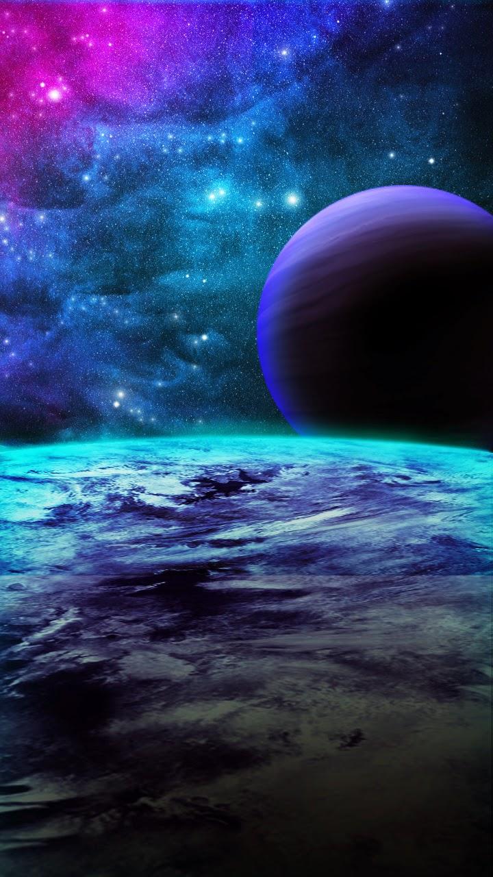 Galaxy Wallpaper Free Download: Galaxy Wallpaper 720x1280