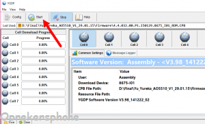 Cara Flashing Coolpad A8 dengan mudah