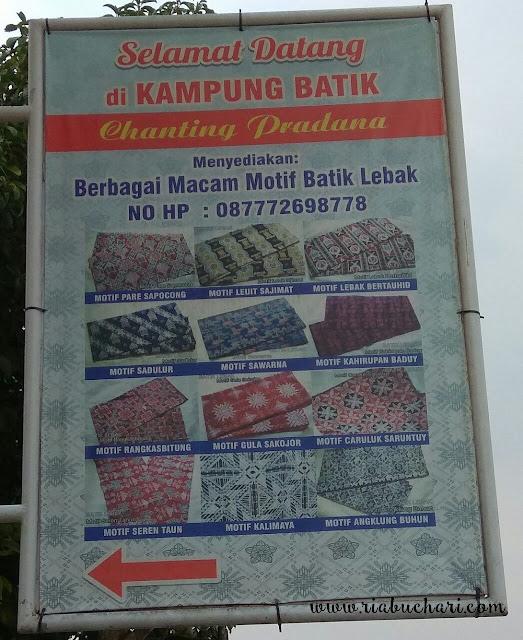 Mengulik Cemilan & Batik Khas Lebak, Banten