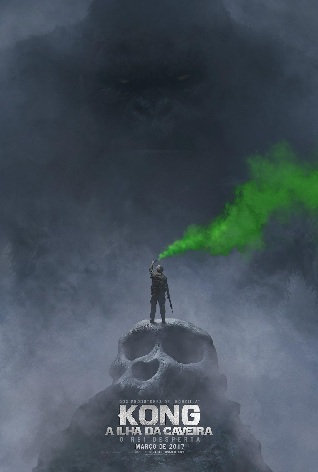 Poster do filme Kong: A Ilha da Caveira