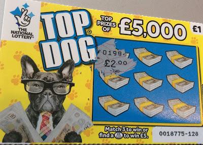 £1 Top Dog Scratch Card