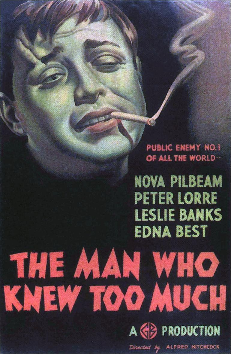 The Man Who Knew Too Much (1934) | A March Through Film ...