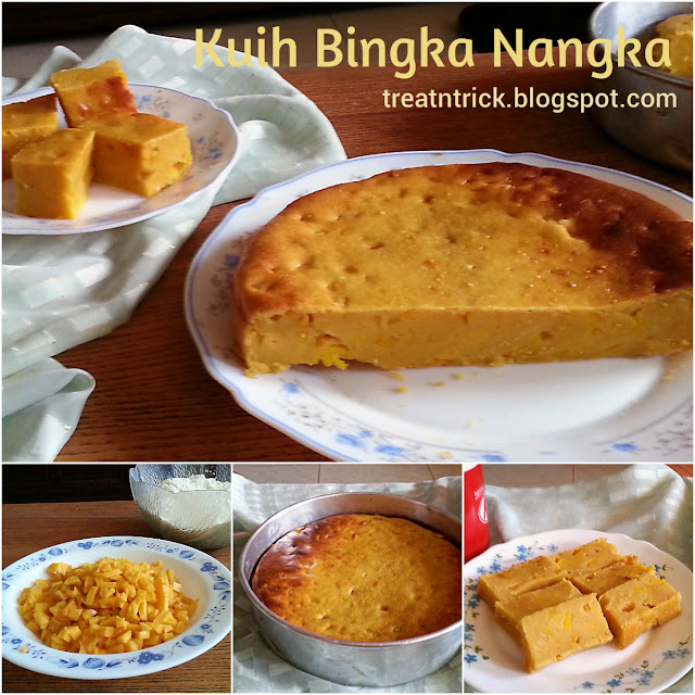 Kuih Bingka Nangka Recipe @ treatntrick.blogspot.com