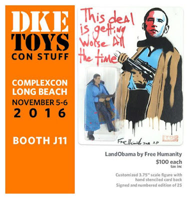 Complex Con 2016 Exclusive LandObama Bootleg Star Wars Figure by Free Humanity x DKE Toys