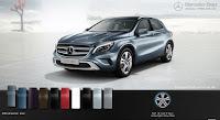Mercedes GLA 200 2015 màu Xanh Universe 894