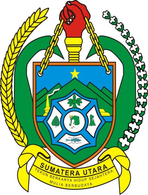 Lambang Pemprovsu : lambang, pemprovsu, Download, Pemerintah, Provinsi, Sumatera, Utara, Sumut, Vector, Id-Vector