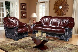 Стильная мебель: кожаные клубные кресла