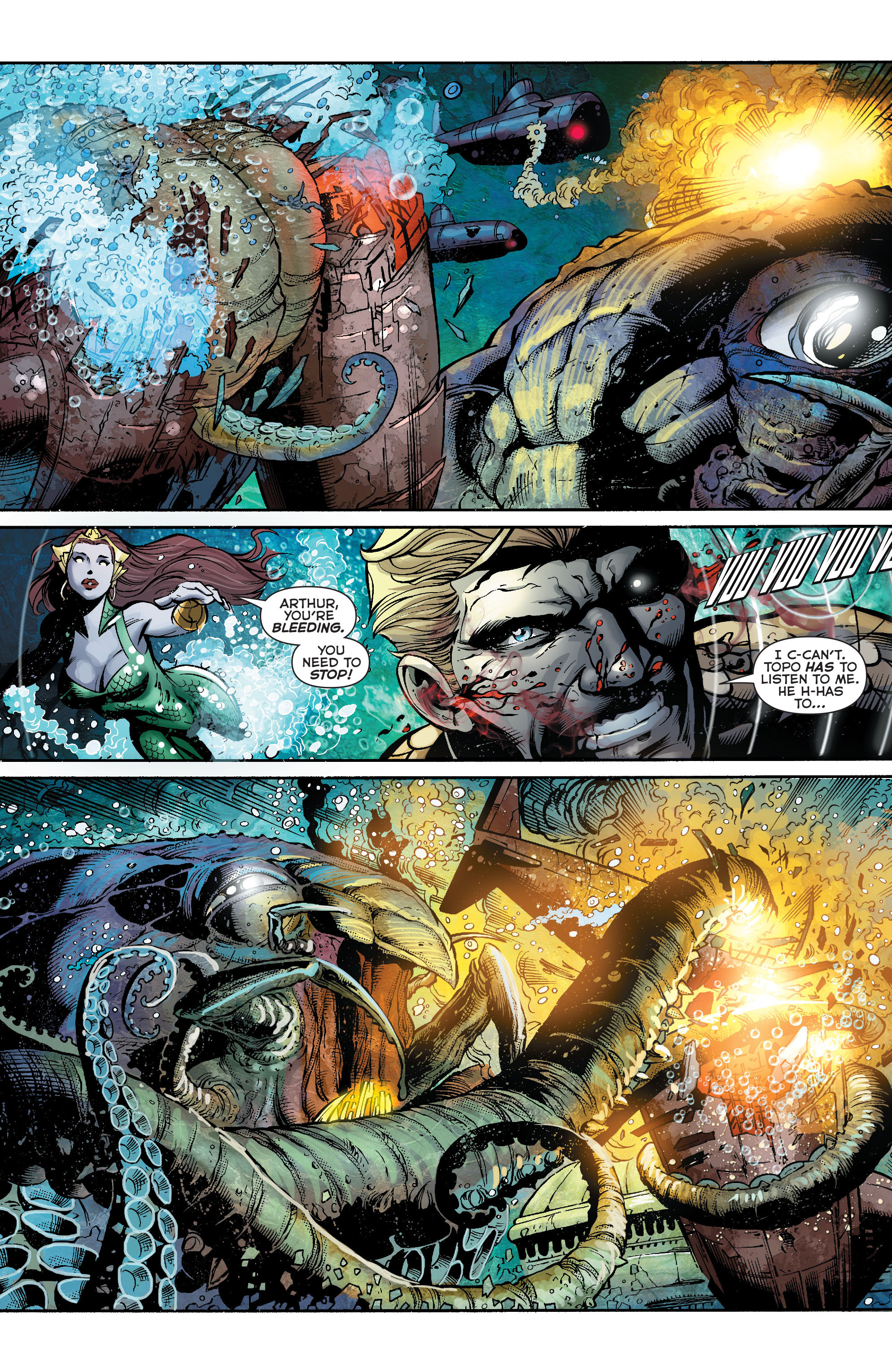 Read online Aquaman (2011) comic -  Issue #23 - 15