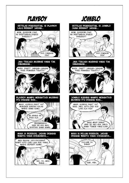 10 Meme 'Beda Playboy VS Jomblo', Cewek Wajib Paham Nih!