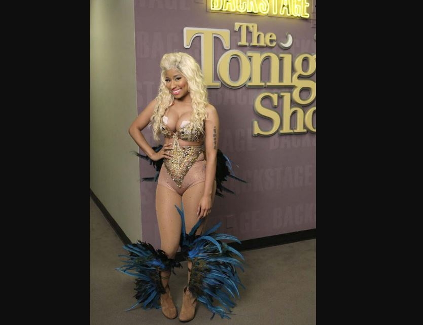 Nicki Minaj at leno show