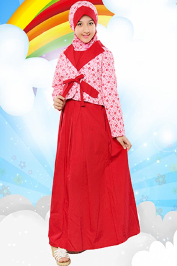 Gambar Busana Muslim Gamis Untuk Anak Perempuan