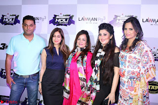 Pre Celetion Of India Premiere Edm Holi Festival With Many Bollywood Celebrities   9th March 2017 031.JPG