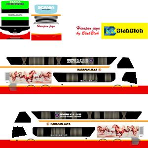 Livery Bussid Bimasena Harapan Jaya SDD