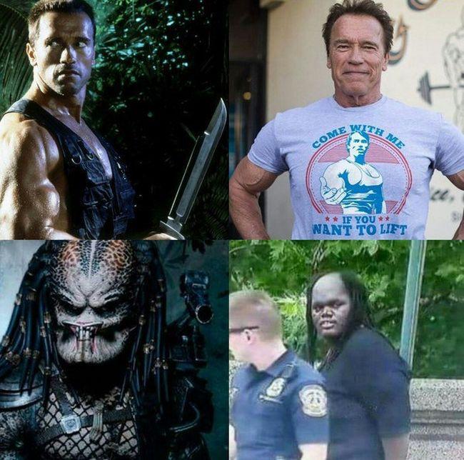 Como envelheceram os atores de Predador