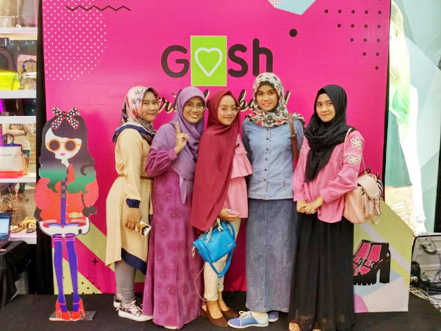 GOSH Birthday bash ke 20 di Duta Mall Banjarmasin