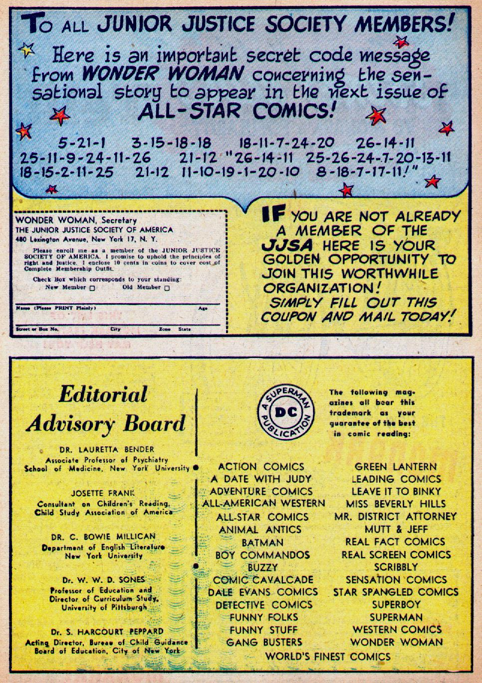 Read online All-Star Comics comic -  Issue #47 - 42