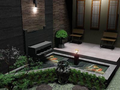 gambar kolam mungil di rumah minimalis (25 gambar)   model