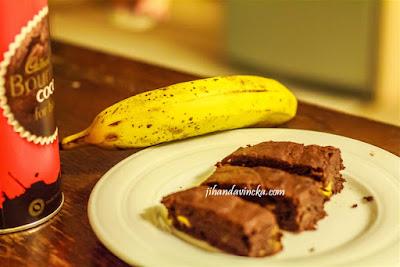 Resep Brownies Pisang Coklat
