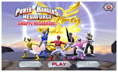 Download game Power Rangers Swappz MegaBrawl Android