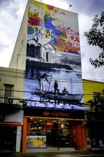 Carrefour Express inaugura mais uma loja em São Paulo com mural exclusivo
