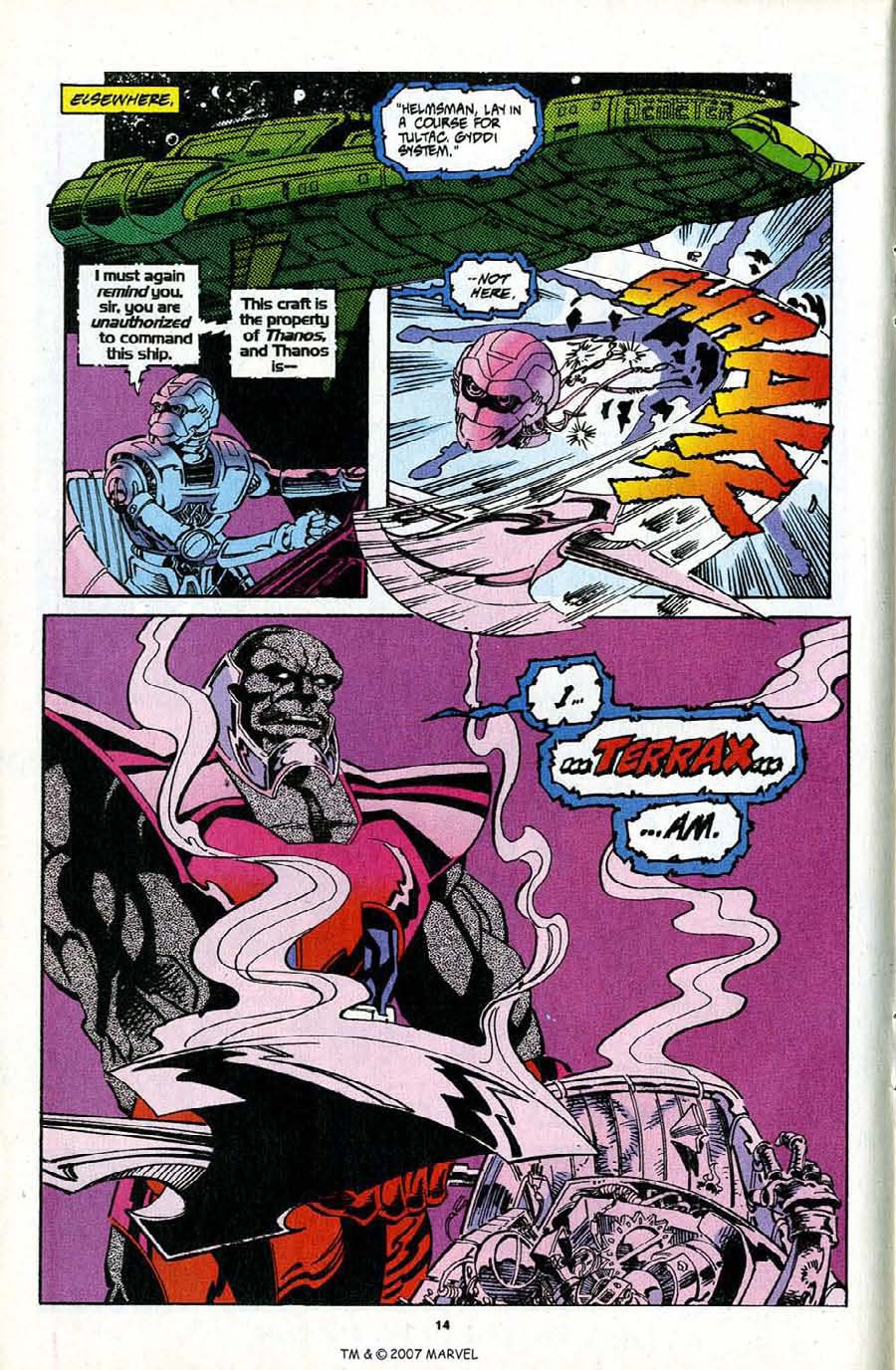 Read online Silver Surfer (1987) comic -  Issue #97 - 16