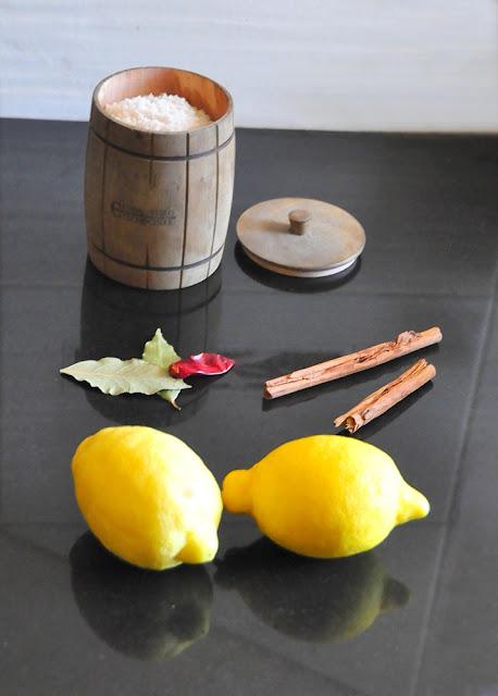 Kiszone cytryny - kuchnia marokańska