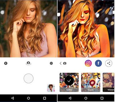 Prisma transforme suas fotos em obras de arte
