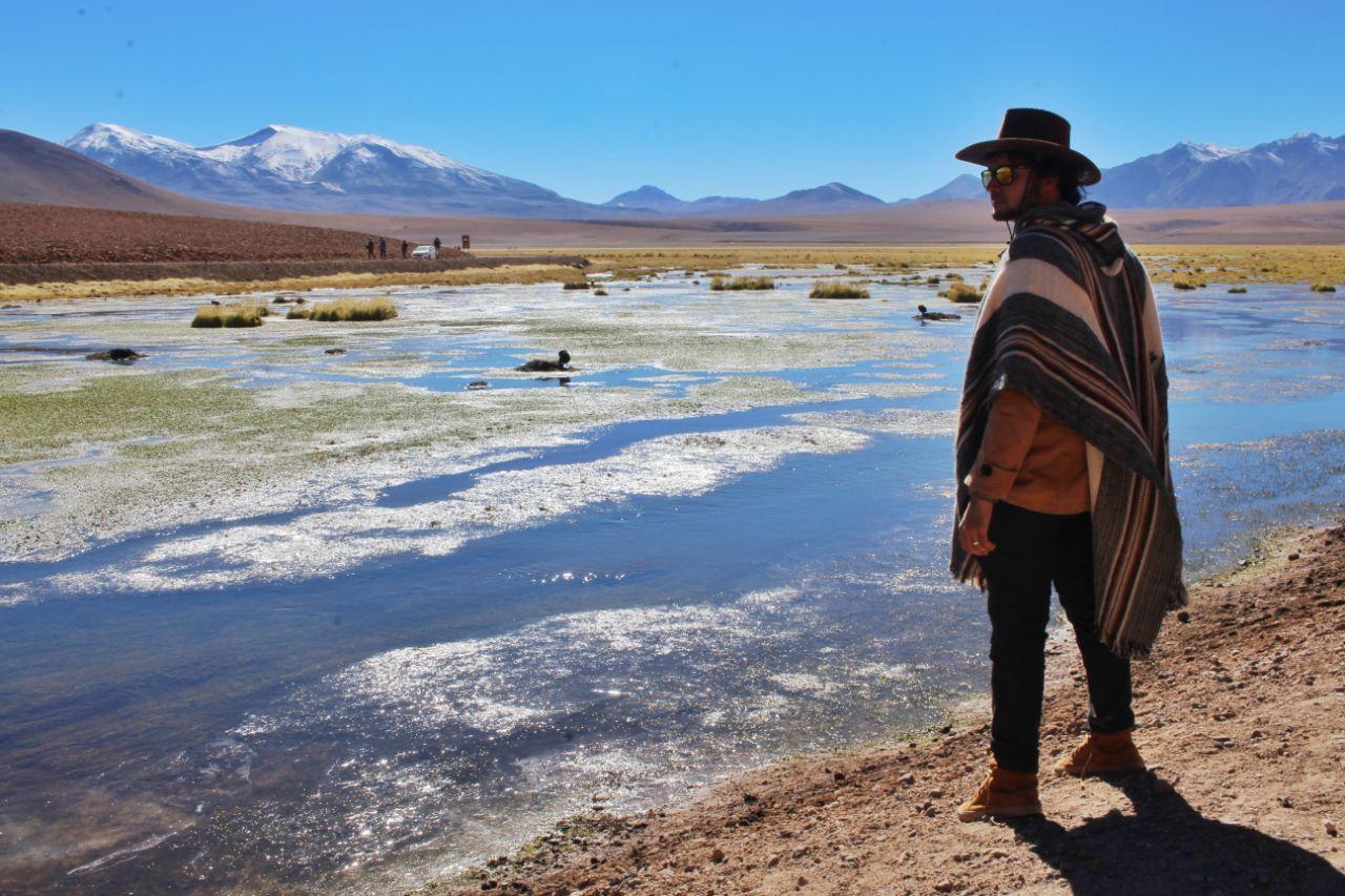 Olhando para o Vado del Rio Putana.