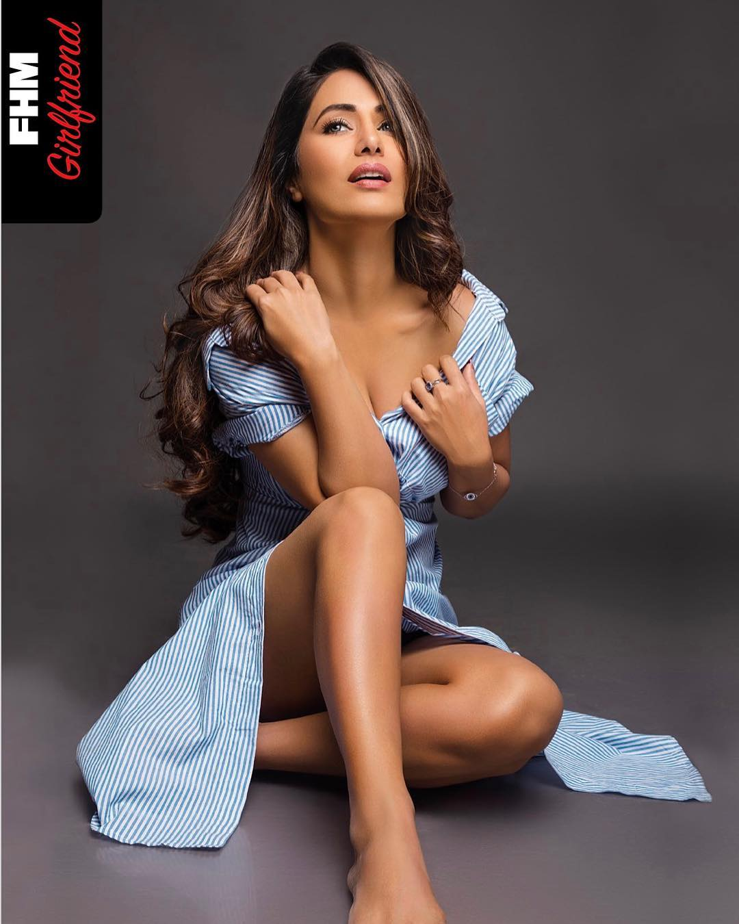 Hina Khan flaunts her legs in bold photoshoot for FHM.