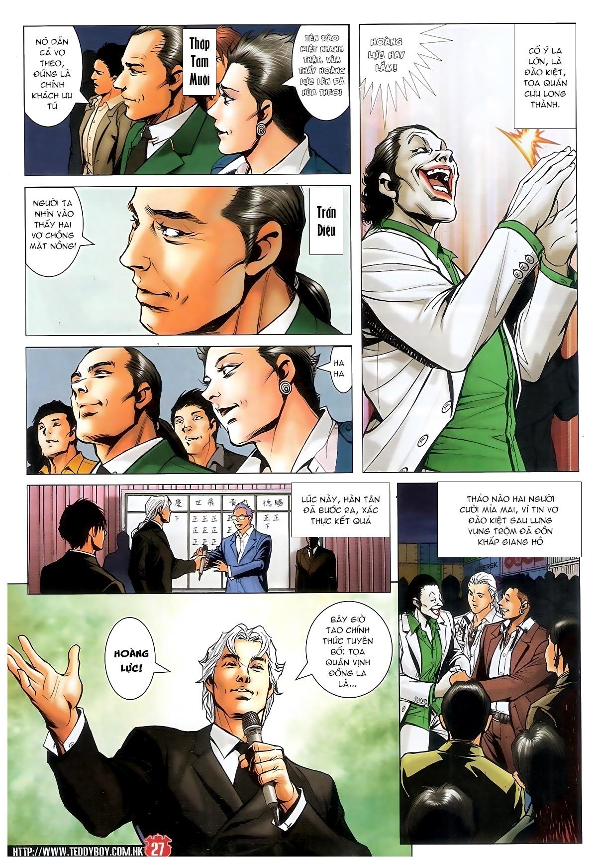 Người Trong Giang Hồ - Chapter 1561: Lòng người theo về - Pic 24