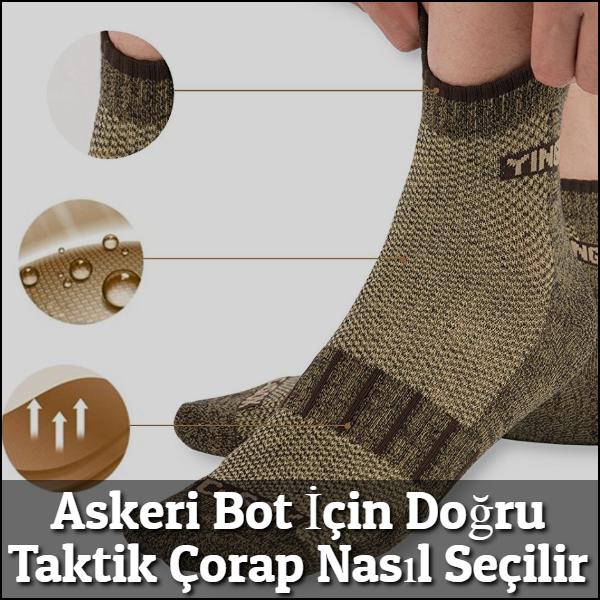 askeri taktik çorap